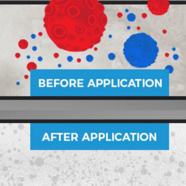 Chytrá stena - antimikrobiálna tabuľová farba na stenu - účinky