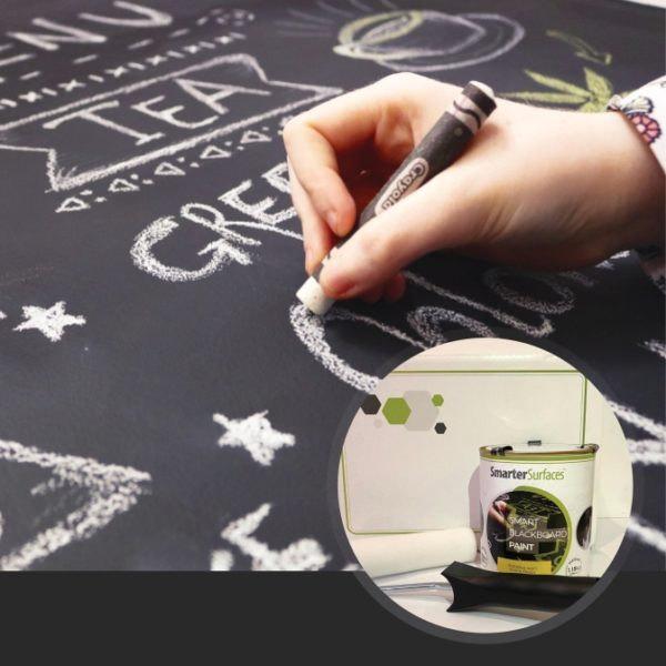 Chytrá stena – Smart Wall Paint - balenie tabuľovej farby